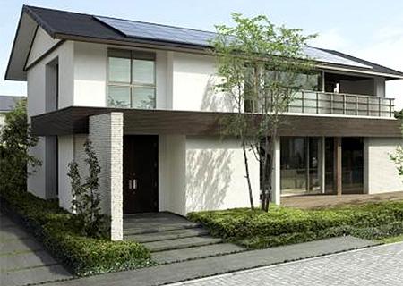画像 : 住友林業の家の外観・実例 画像集(ブログ 間取 窓 外壁 玄関 ハウスメーカー - N